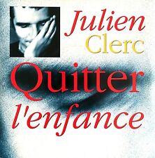 "Julien Clerc 7"" Quitter L'enfance - France (VG+/EX)"