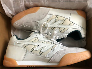 Mens Hi Tec Squash Classic Leather Gym Running Fitness Trainers Size 8 / 7.5 UK