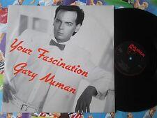 Gary Numan – Your Fascination  Numa  NUM 9 UK Vinyl 12inch Maxi-Single