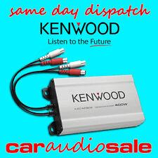 KENWOOD kac-m1804 400 WATT 4 CANALI sottile compatta Potenza Amplificatore Altoparlante
