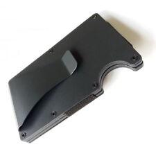 Metal Wallet Credit Card Holder Wallet Men's Purse Slim Money Clip Minimalist
