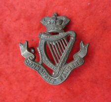 Connaught Rangers Victorian crown cap badge