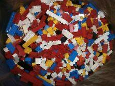 LEGO Basic kg Kiloware Bausteine hoch bunt gelb rot blau schwarz usw. 100 Stück