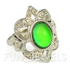 New Beautiful Vintage Mood Ring Multi Colored Change Retro Free Color Chart