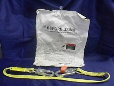 New Buckingham 7Vv114 Safety Lanyard Rescue Lineman Climbing Positioning 4' Nifp