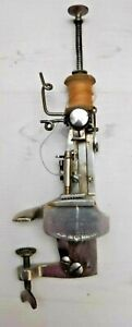 Antique Victorian Moldacot Portable Pocket Sewing Machine