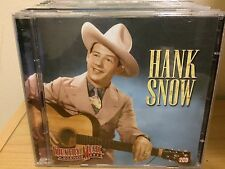 Country Music Legends by Hank Snow (CD, Aug-2006, 2 Discs, Castle Pulse)