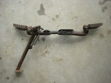 HONDA XR75 XR80 FOOTPEG ASSEMBLY ,1977-1981, VINTAGE