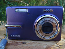 Kodak EasyShare M893 IS 8.1MP Digital Camera - Purple w/ Battery & 4G SD Card