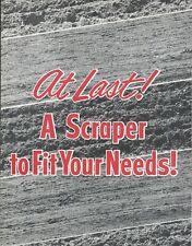 Equipment Brochure - Sherman-Gannon - Scrapers - 3 models - c1957 (E5450)