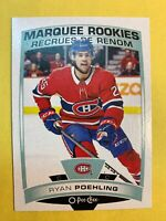2019-20 UD O Pee Chee Marquee Rookie #504 Ryan Poehling Montreal Canadiens RC