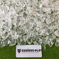 S-P Ice Chunks - Scatter Model Scenery Railway Basing Glass Snow Winter Xmas