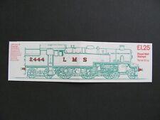 FK6a, £1.25 Booklet. LMS 4P - Design 2. MNH. Cat £4.75.
