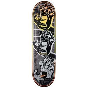 "Santa Cruz Skateboard Deck Transcend Hands VX 8.8"""