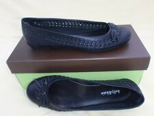 kelly & katie black Leather FLAT shoes 6.5 US / 37 EURO