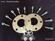 40mm 2x20mm Spurverbreiterung SCC Skoda 5x112 5x100 57,1 inkl. Radschrauben