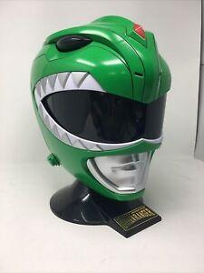 Bandai Power Rangers Mighty Morphin Legacy Green Ranger Helmet- RARE