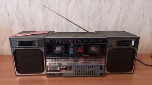 Boombox Stereo Cassette Recorder SHARP GF-800Z(D)