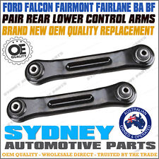 SET REAR LOWER CONTROL ARM FOR FORD FALCON,FAIRLANE,LTD BA BF 10/02-02/08 LH&RH