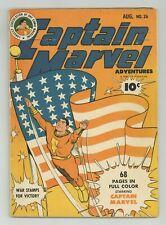 Captain Marvel Adventures #26 VG 4.0 1943