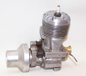 Excellent 1945 Hornet .60 Gas Powered Tether Car Engine W/Flywheel
