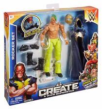 "NEW Mattel WWE Create A Superstar Triple H Rocker Set 6"" Action Figure Acces."