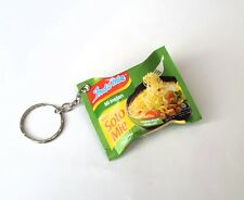 "INDOMIE Mi Goreng SOTO MIE Pack KEYCHAIN Keyring Novelty Indonesia 3D 2.25"" Wide"