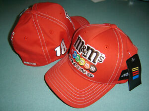 Kyle Busch M&M'S RACING #18 CFS FINALIST FITTED Hat NEW W/tags IN STOCK