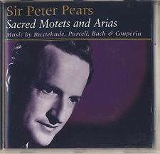 Bach, Purcell, Couperin - Peter Pears: Sacred Motets and Arias (BELART) Like New