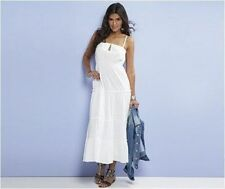 Vestiti da donna lunghezza totali maxi bianchi