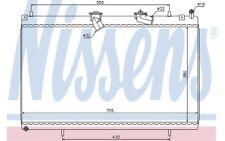 NISSENS Radiador, refrigeración del motor CITROEN C5 C6 PEUGEOT 407 607 63619