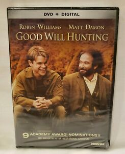 Good Will Hunting DVD + Digital Robin Williams Matt Damon NEW FREE SHIP