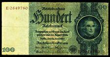 DEUTSCHLAND. GERMANY. 100 Reichsmark 24.6.1935. Ro. 176c. -- KN braun --