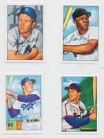 1952 Bowman BASEBALL100 cards Reprint   MICKEY MANTLE STAN MUSIAL Willie MAYS