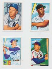 1952 Bowman 100  Reprint Cards MICKEY MANTLE WILLIE MAYS STAN MUSIAL DUKE SNIDER