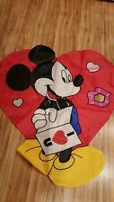 Disney Mickey Valentine's Day Outdoor Large Flag Hearts Lips