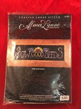 Bucilla Alma Lynne Designs Sow Good Seeds Sunflower Counted Cross Stitch 41397
