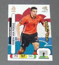 VAN PERSIE STAR PLAYER NEDERLAND PAYS-BAS FOOTBALL CARD PANINI UEFA EURO 2012