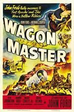 WAGON MASTER Movie POSTER 27x40 C Ben Johnson Joanne Dru Harry Carey Jr. Ward