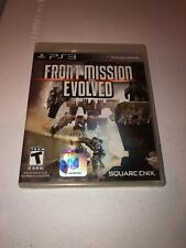 Front Mission Evolved (Sony PlayStation 3, PS3, 2010) Complete