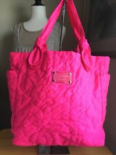 Mark By Mark Jacobs Pink Tate Quilted Tote Shoulder Bag