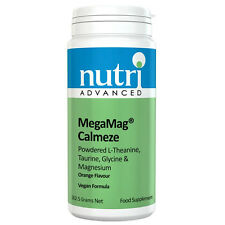 MegaMag Calmeze Orange - 262.5g Powder by Nutri Advanced - Magnesium & Aminos
