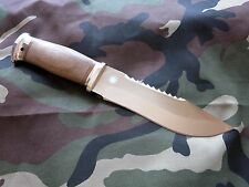Taiga ROSARMS Combat Outdoor Camping Fishing Hunting knife Zlatoust Russian nut