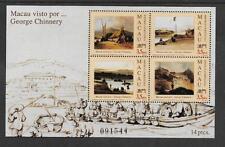 CHINA MACAU, 1994, GEORGE CHINNERY, SG MS 834, MNH, CAT 14 GBP