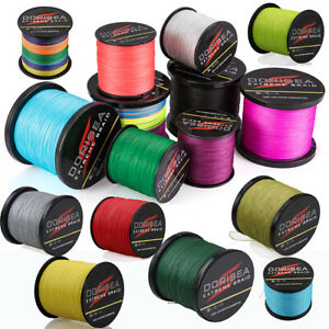 Dorisea 8 Strands 100% Pe Super Strong Dyneema Fishing Line 130LB/200LB/300LB