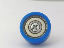 Flat Nylon Ball Bearing with 22mm Blue Plastic Tire for sliding doors and window