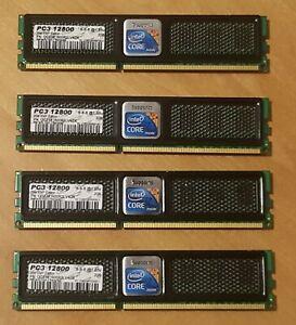 8GB 4x2GB Intel XMP Edition PC3-12800 1600MHz 8-8-8@1.65v RAM