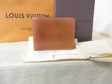 Louis Vuitton Brown Nomad Porte Billets 6 Cartes Credit Mens Wallet Camel M85015