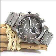 Fossil Nate Trend Chronograph JR1437 Herrenuhr Edelstahl