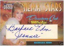 "2007 AMERICANA AUTOGRAPH AUTO:BARBARA EDEN #18/25 WITH BLUE INSCRIPTION""JEANNIE"""